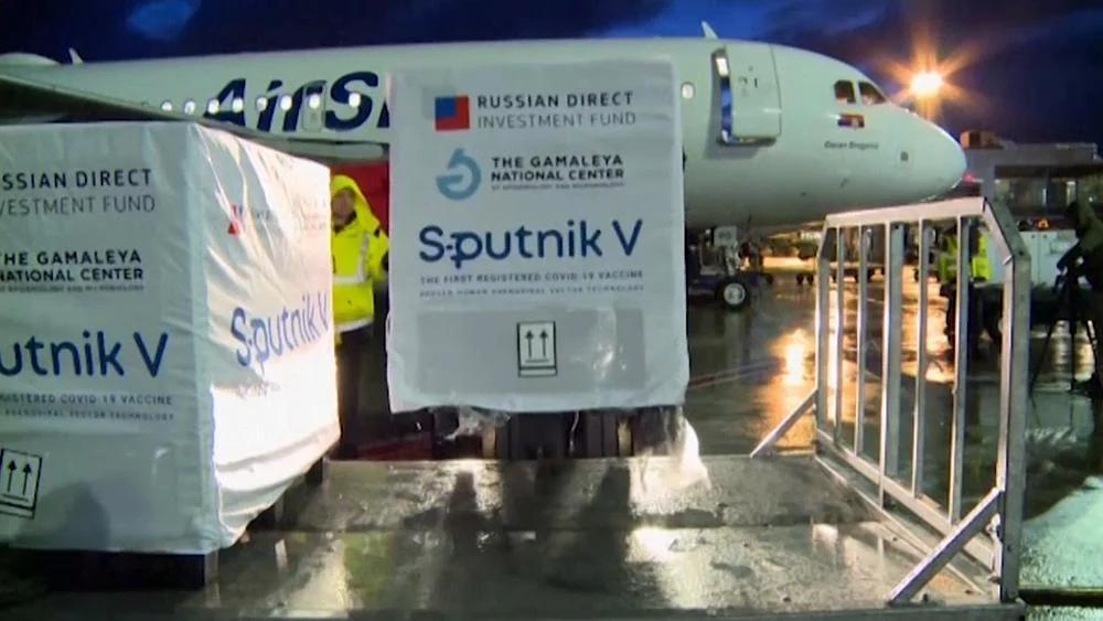 Спутник V в Сербии поставка