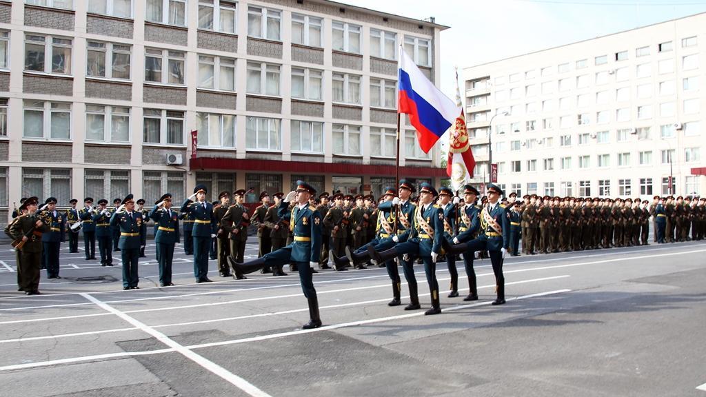 курсанты институт войск Росгвардии