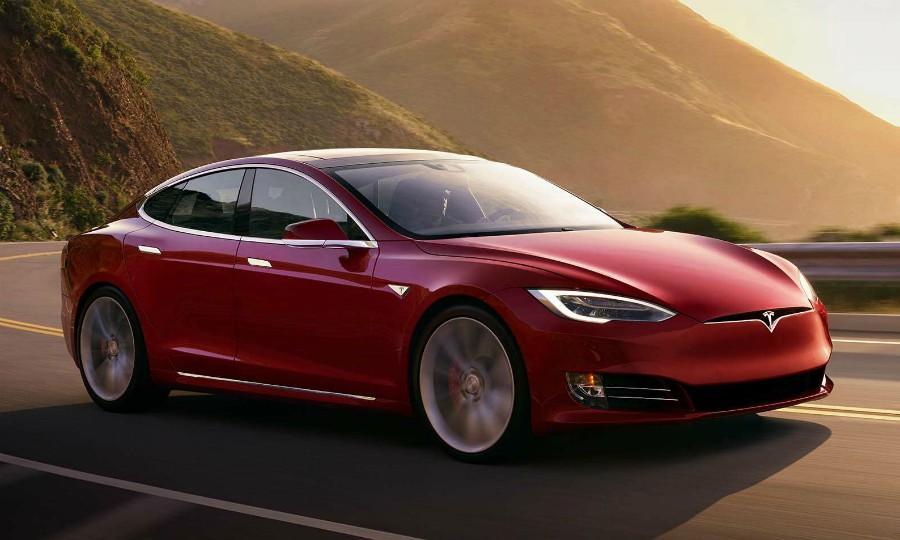 Tesla Model 3 прототип