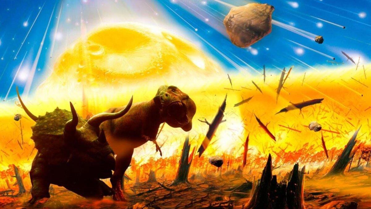 комета и динозавры