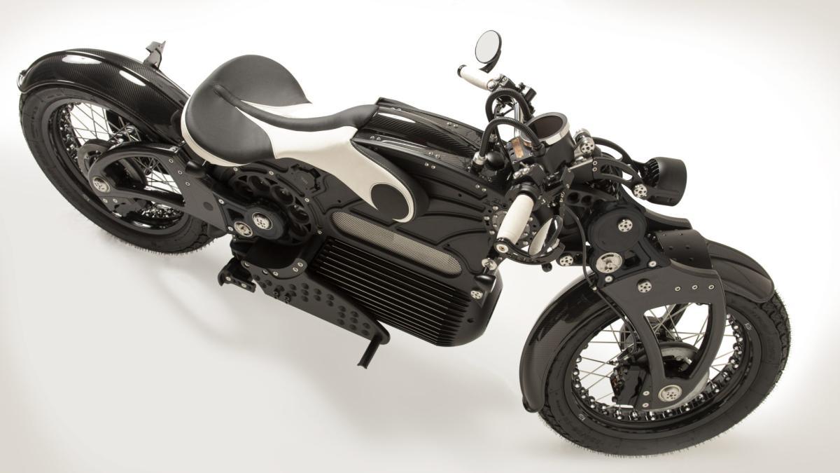 Curtiss The One электрический мотоцикл