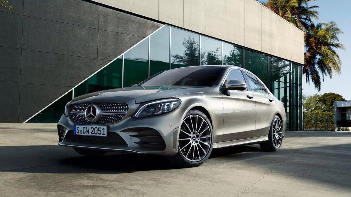 2021 новый Mercedes-Benz C-Class