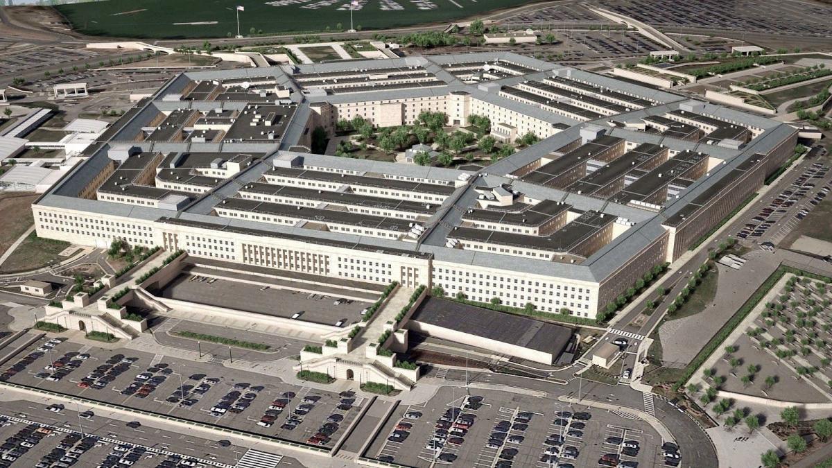 здание министерства обороны США Пентагон