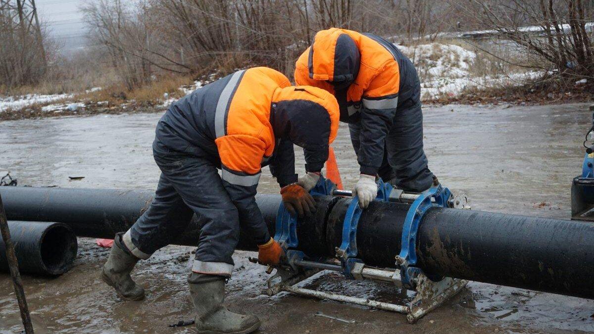 Авария водопровод Саратов