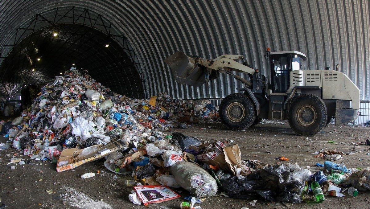 Полигон ТБО мусор отходы свалка