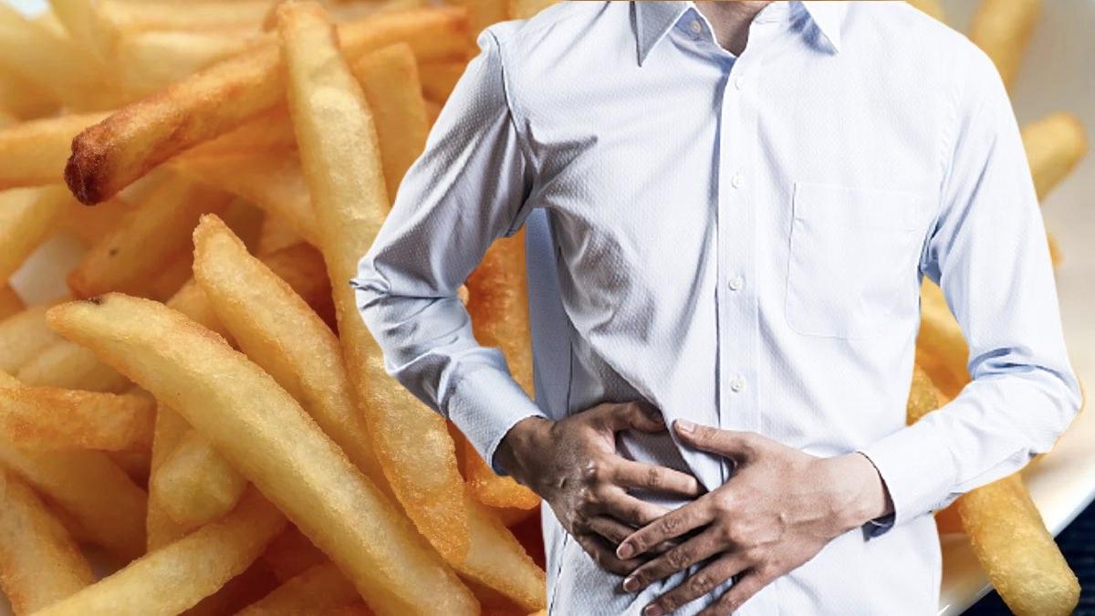 картофель фри и больная печень