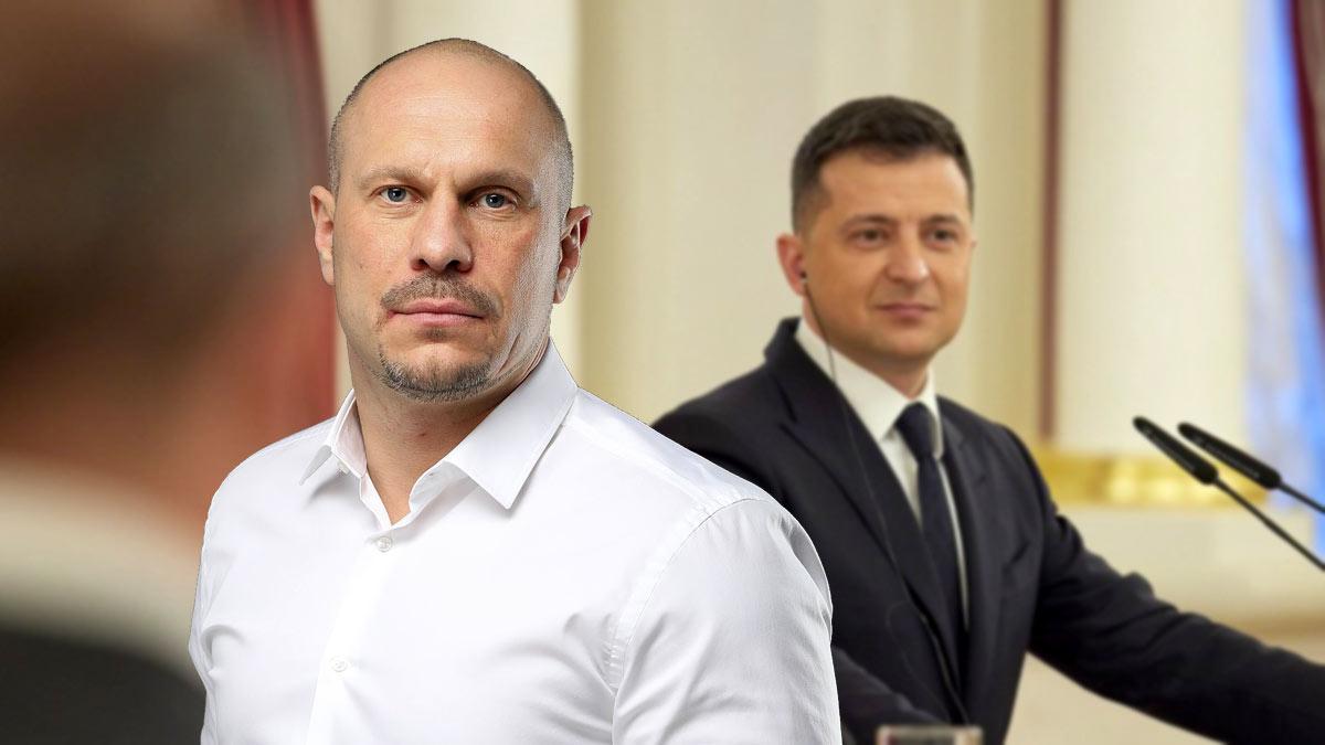 Владимир Александрович Зеленский и Илья Кива