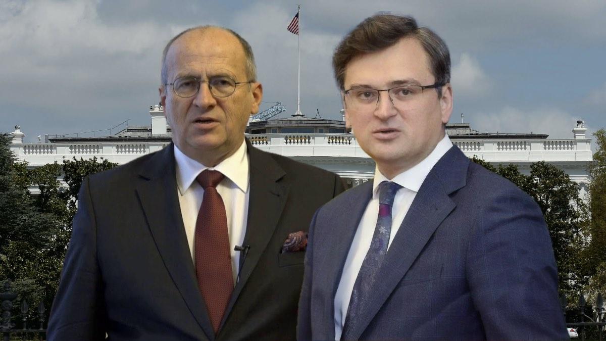Министр иностранных дел Польши Збигнев Рау и глава МИД Украины Дмитрий Кулеба
