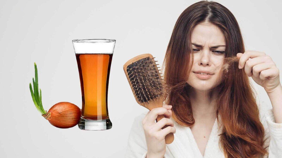 луковый сок выпадение волос