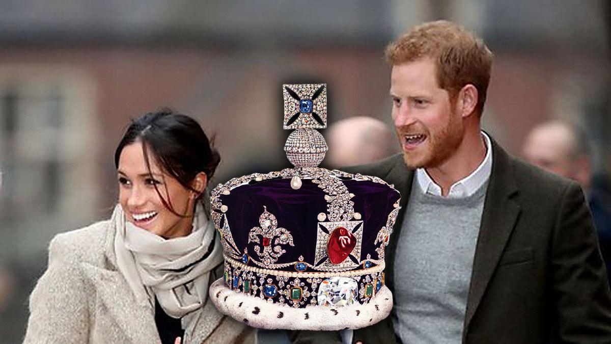 меган маркл принц гарри и Корона Британской империи