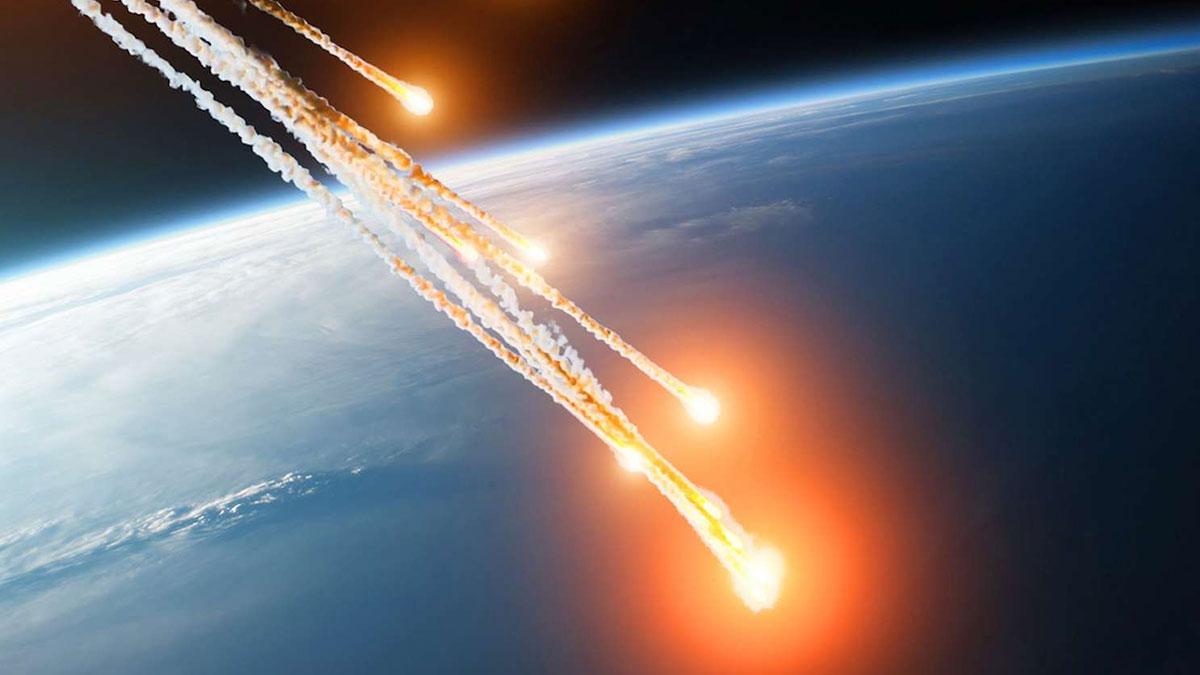 метеориты падающие на землю астероиды атмосфера