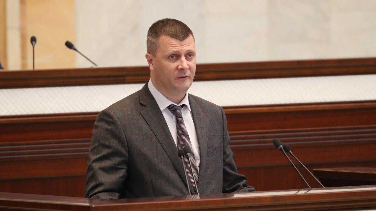министр финансов Белоруссии Юрий Селиверстов