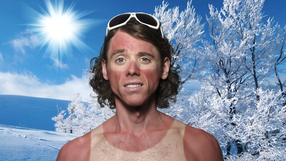 мороз солнце и солнечный ожог