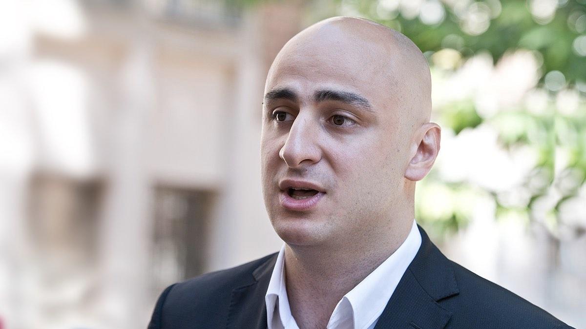 Ника Мелия, председатель политсовета и парламентской фракции партии «Единое национальное движение»