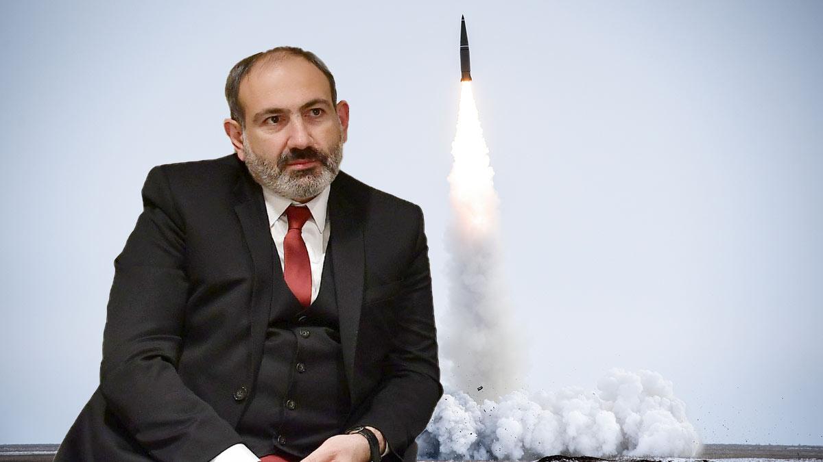 Никол Пашинян и ракетный комплекс Иcкандер