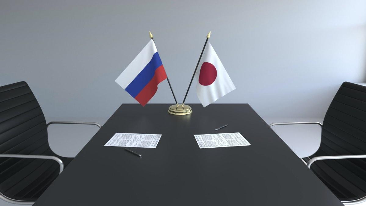 стол переговоров японии и россии