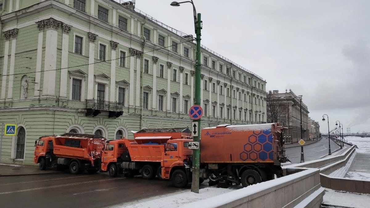 перекрыт центр петербурга