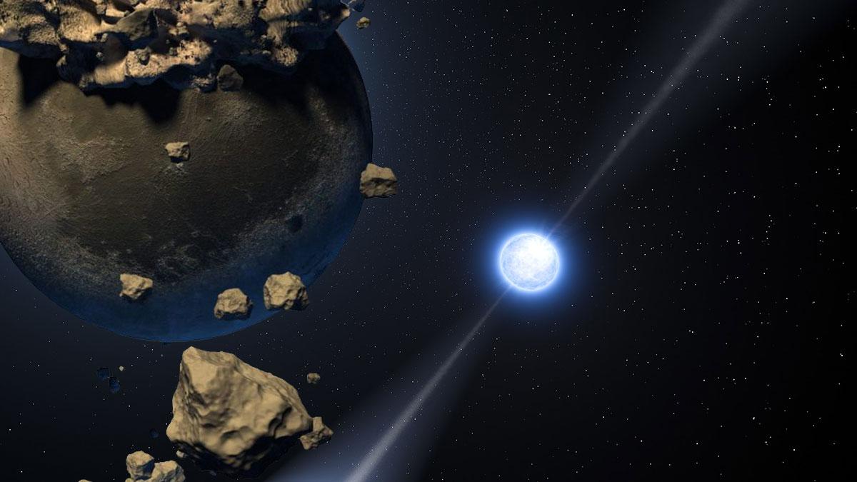 белый карлик и погибшая планета космос исследование