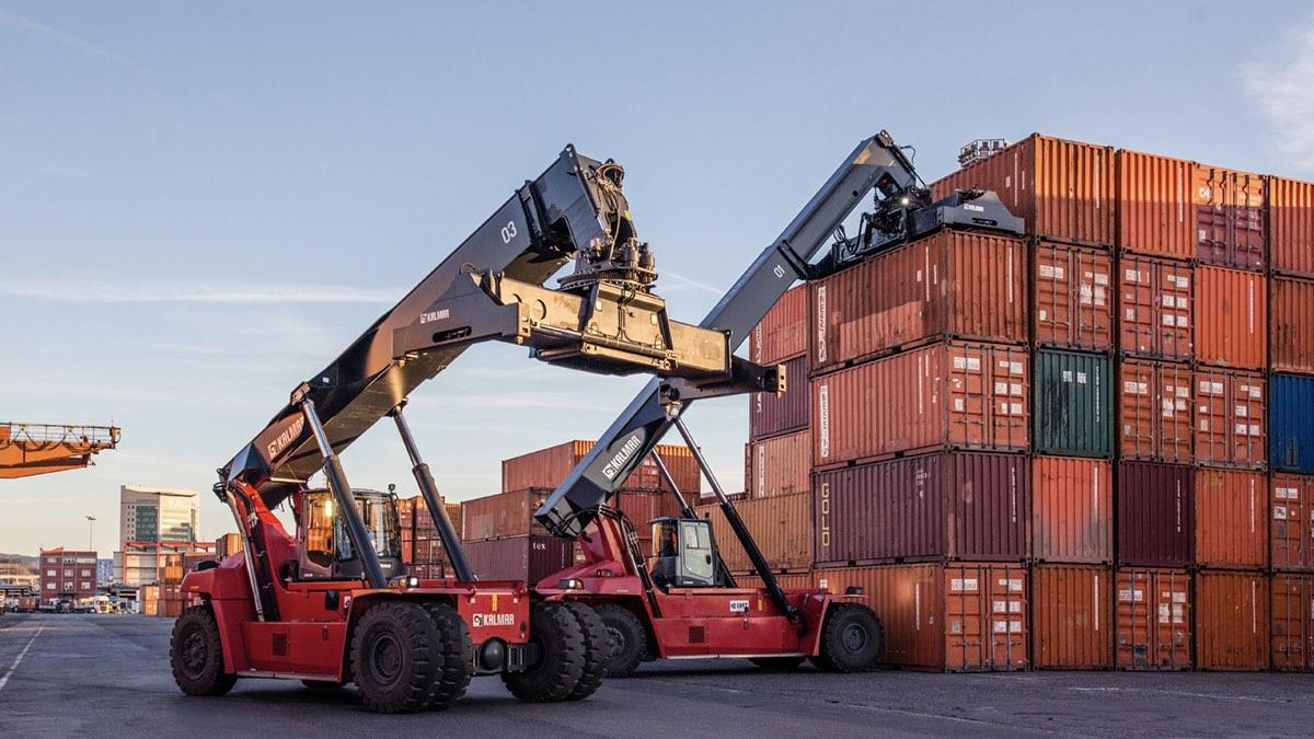 погрузчики контейнеры экспорт