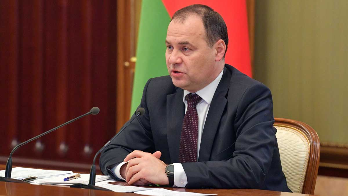 премьер-министр Белорусии Роман Головченко