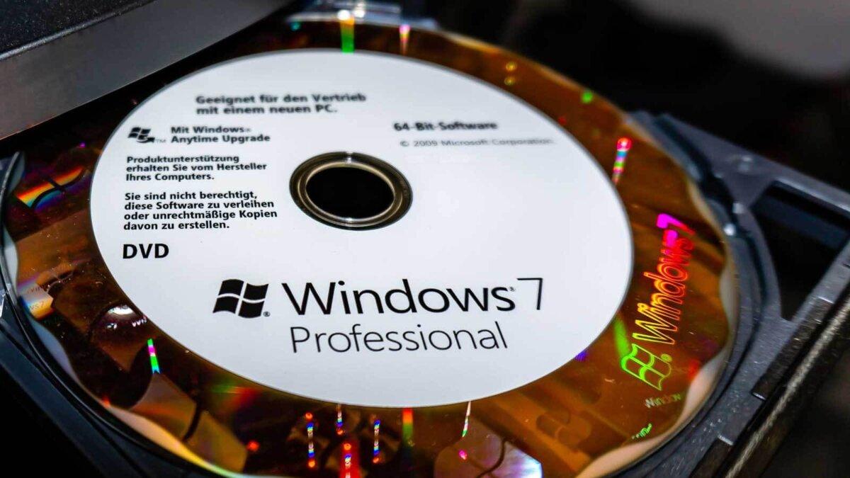 привод диск Windows 7