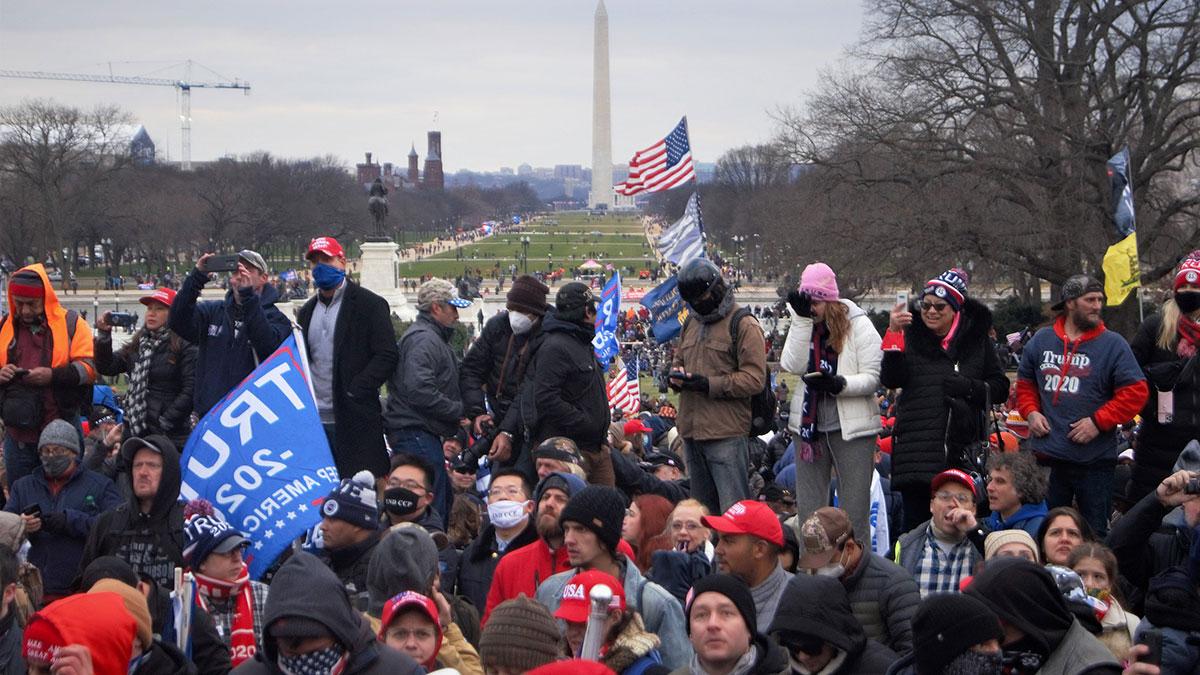 протесты в сша штурм Капитолия Вашингтон протестующие