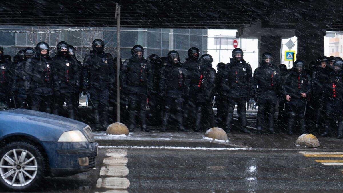 rally in Moscow Митинг полиция