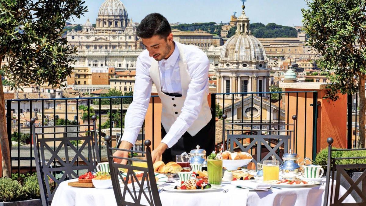 ресторанчик в италии