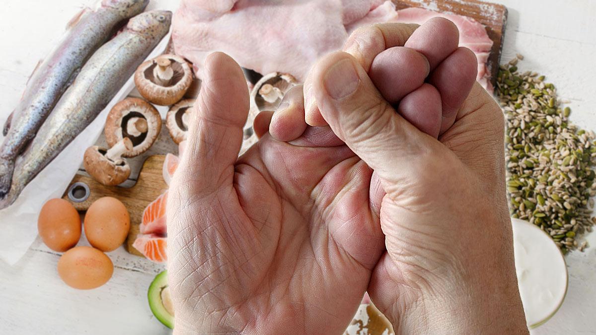 онемение рук от нехватки витамина b5