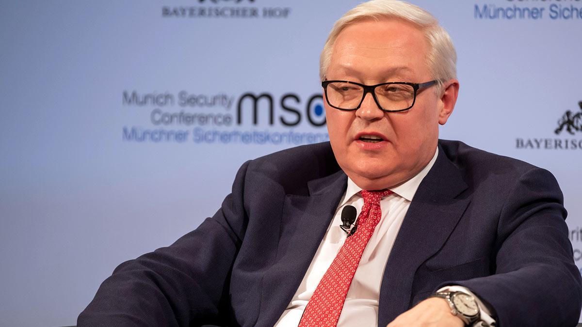 Замглавы российского МИД Сергей Рябков