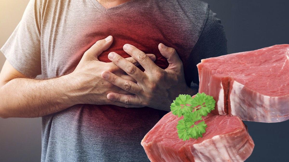 сердце и красное мясо