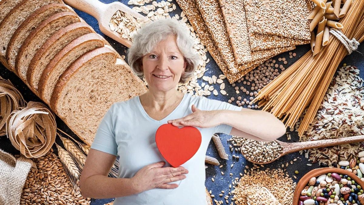 сердце и зерновые продукты