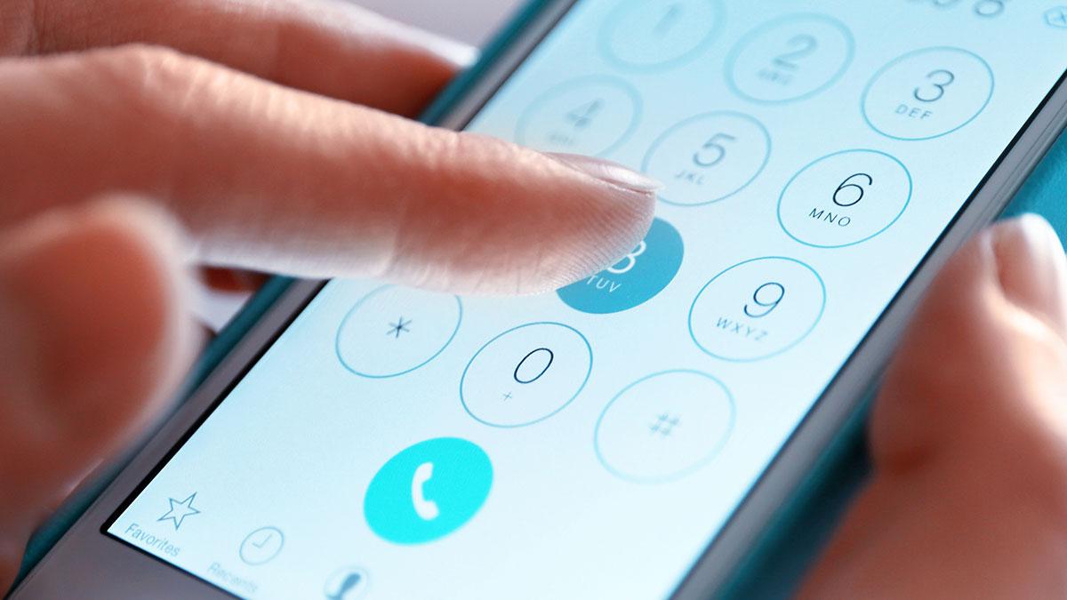 телефонный номер набор звонок смартфон