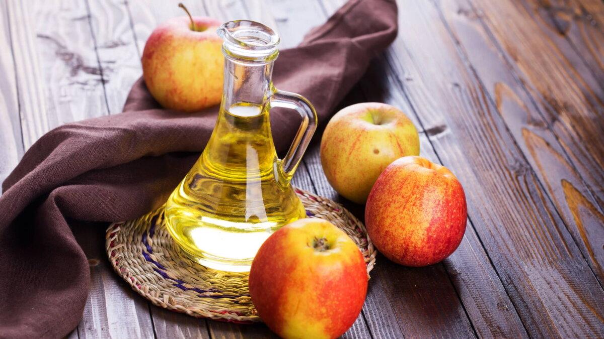 Яблочный уксус два