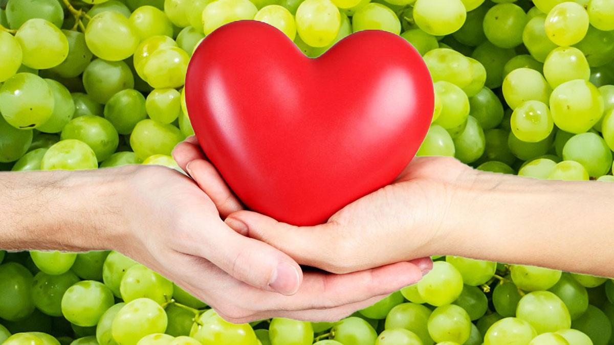 виноград и здоровое сердце здоровье питание
