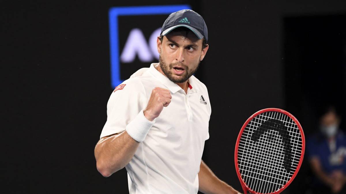 Теннисист Аслан Карацев