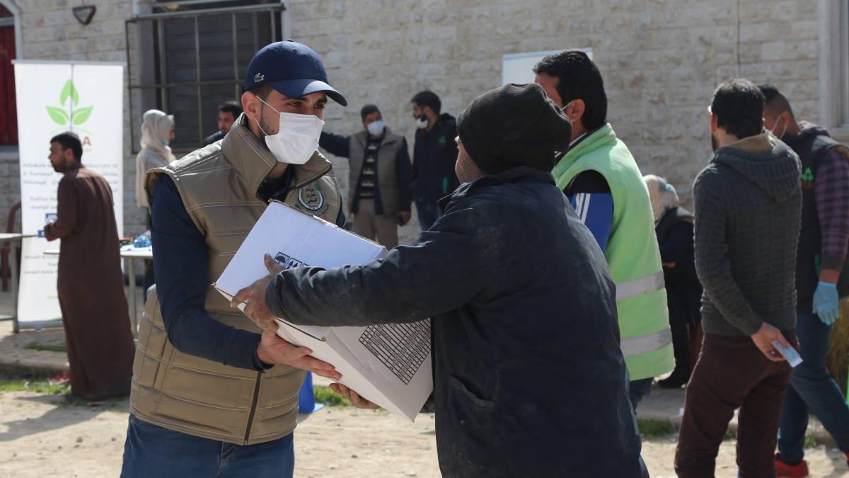 Сирия гуманитарные поставки