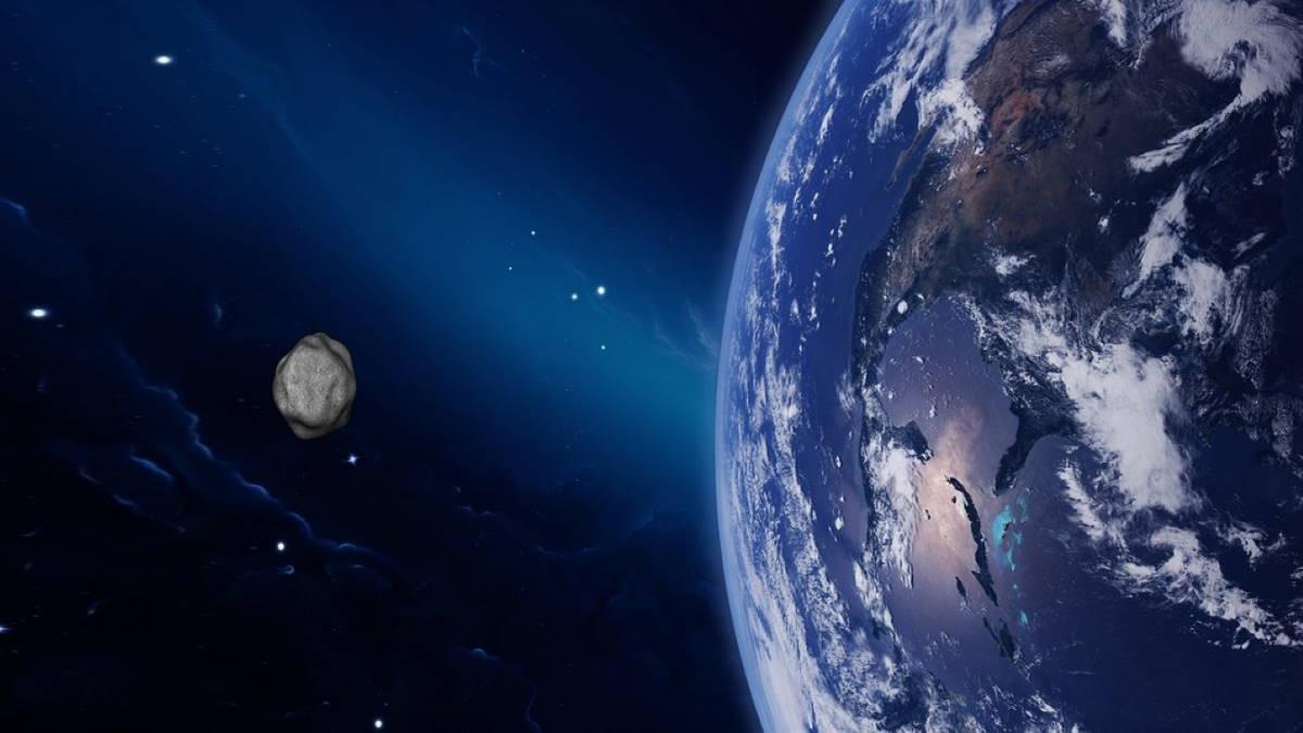 Планета Земля метеорит