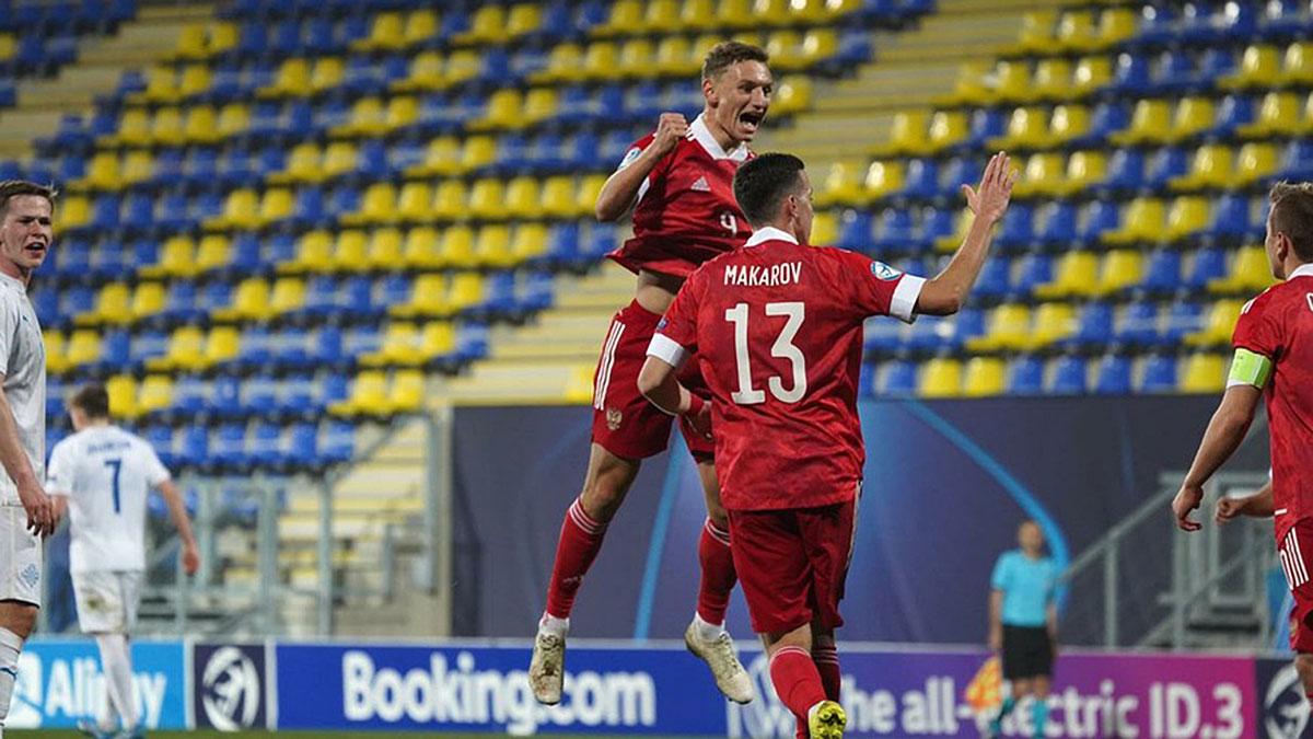 Молодежная сборная России по футболу победа макаров