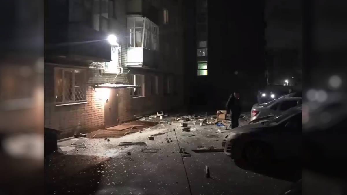 взрыв газа в Зеленодольске