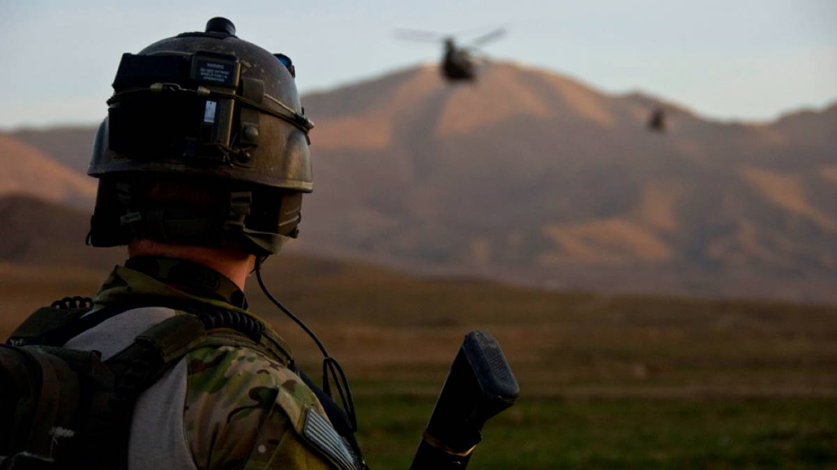 Афганистан армия США солдат