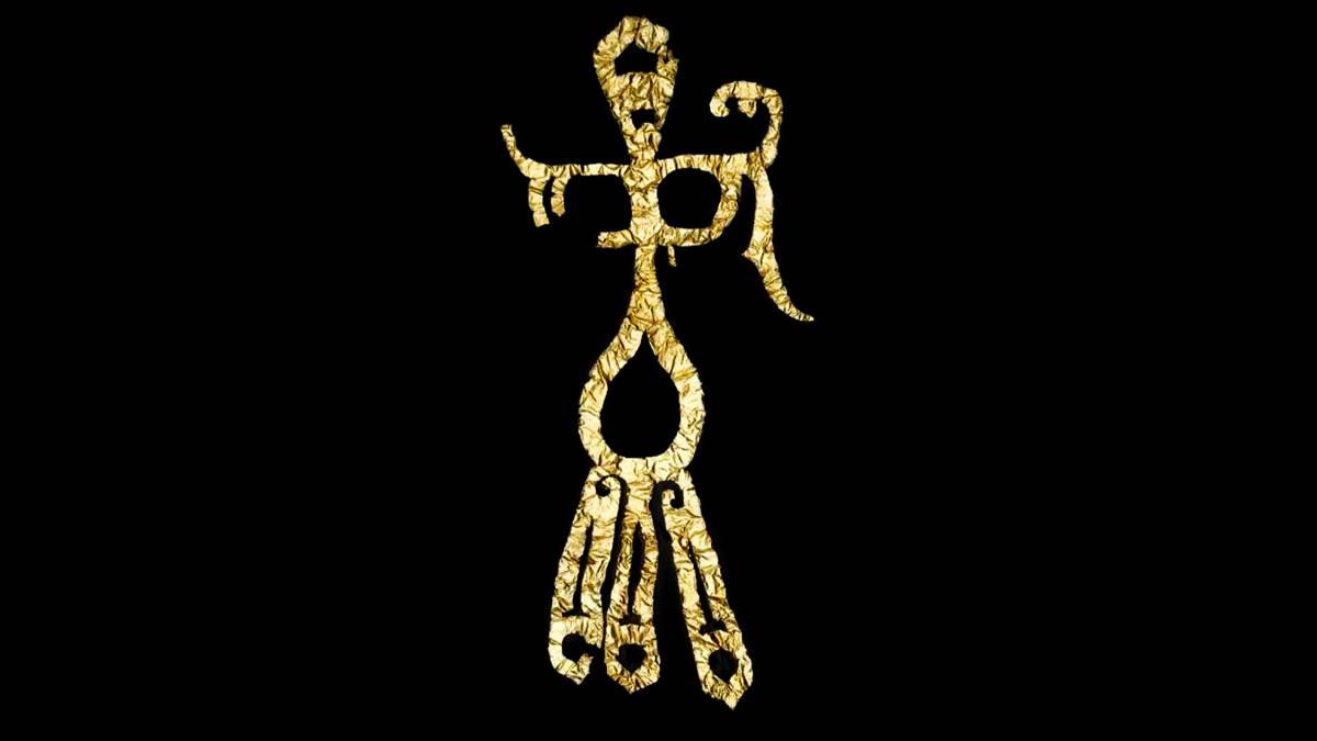 Золотой феникс Китай археология