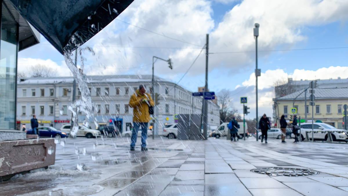 Погода Москва оттепель зима