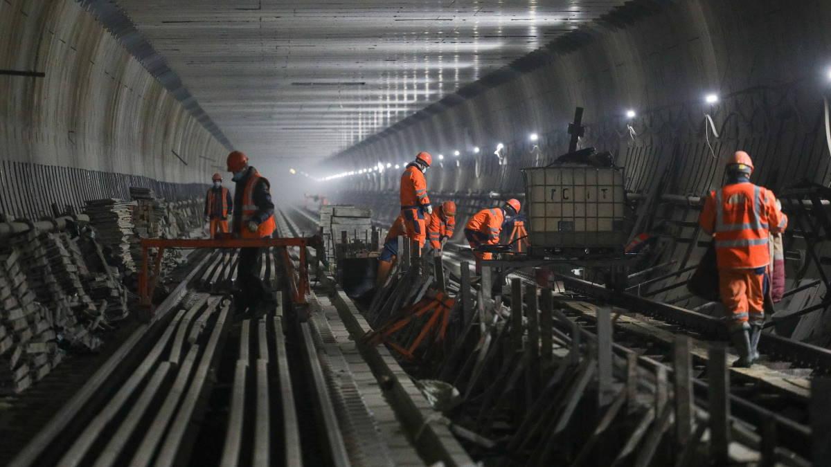 Метрополитен строительство