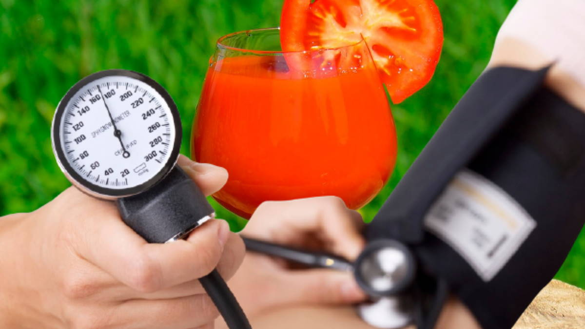 Артериальное давление и томатный сок