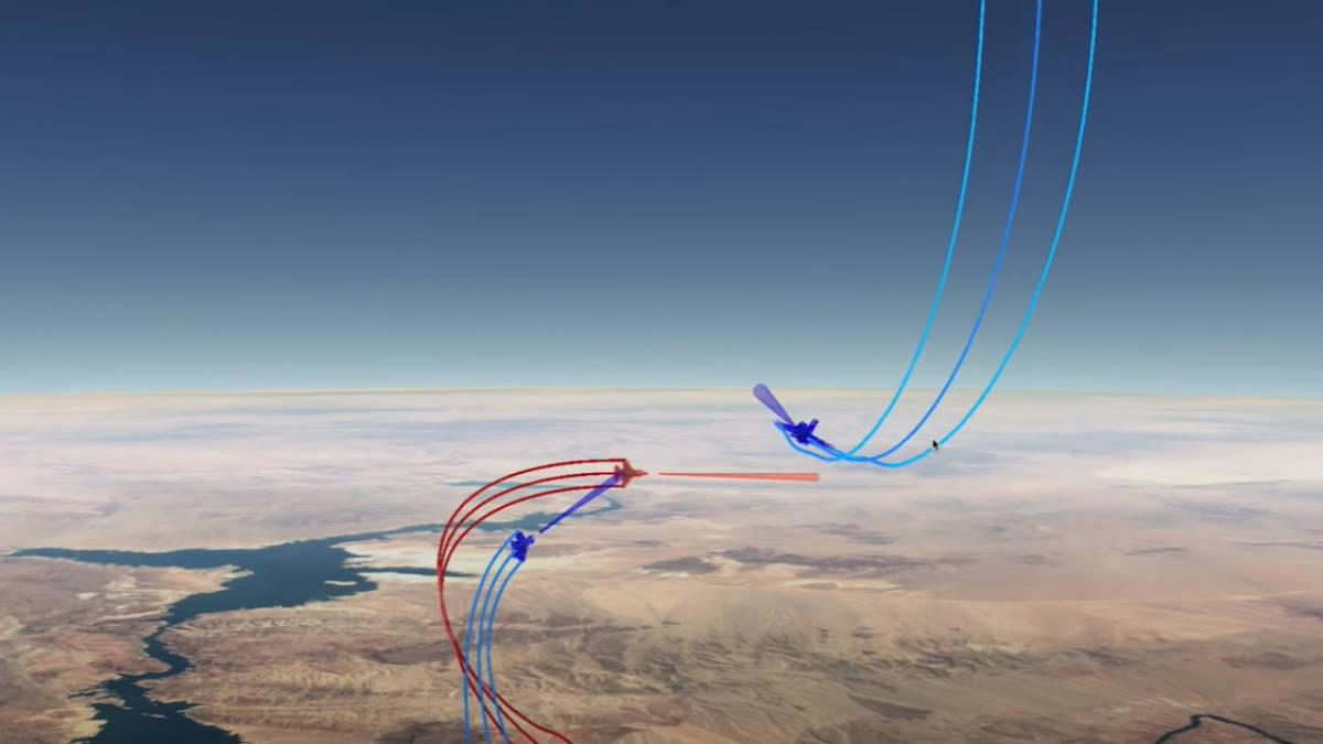 В США научат искусственный интеллект вести воздушный бой