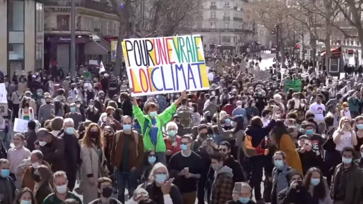 акция в защиту климата