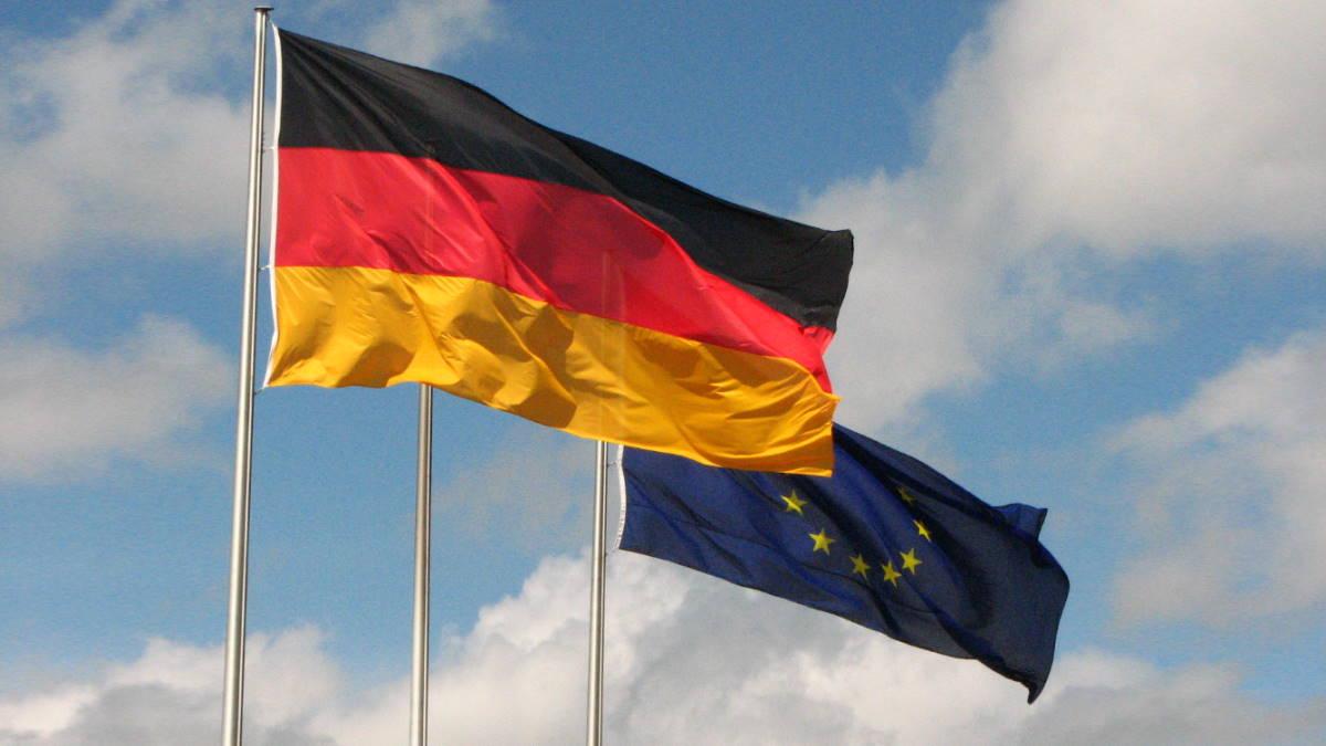 Германия Евросоюз флаги