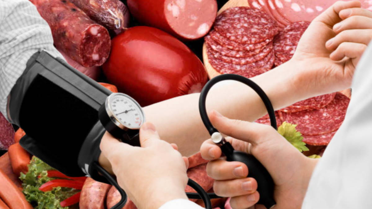 артериальное давление и мясо