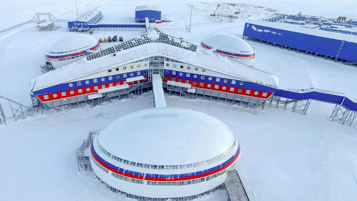 Арктический Трилистник военная база Российской Федерации в арктике